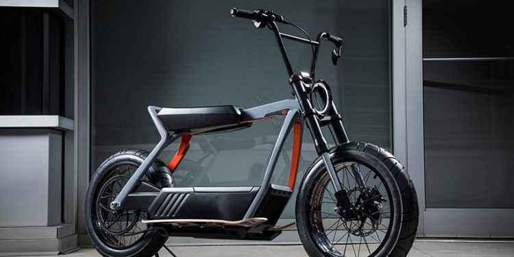 Harley-davidson elektrikli scooter